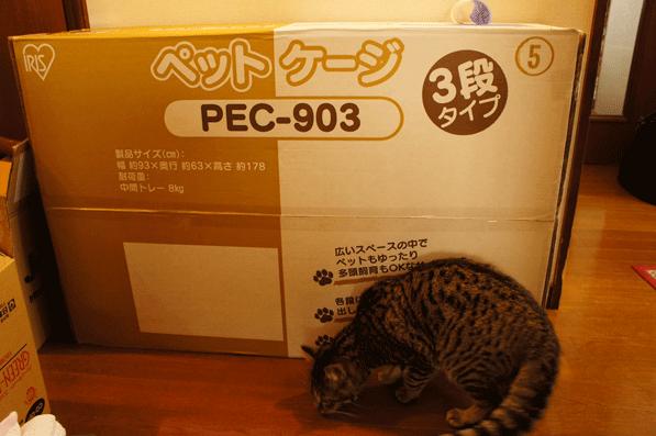 PEC-903の化粧箱
