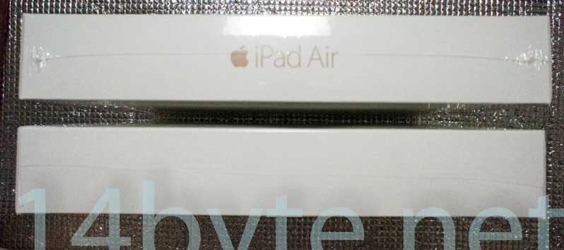 ipadair2(化粧箱)の正規品と整備済製品の側面比較