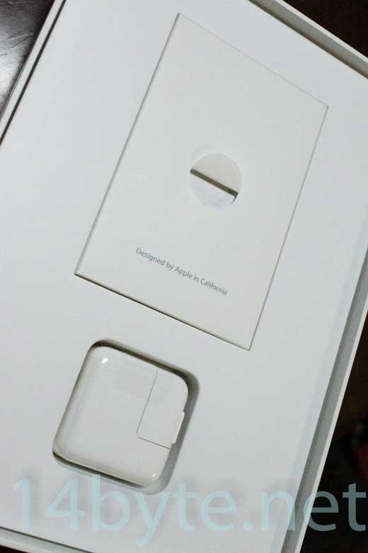 ipad air2の同梱品